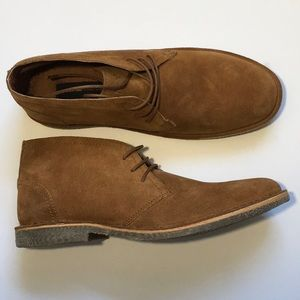 MARC NEW YORK ANDREW MARC Leather Chukka Boot